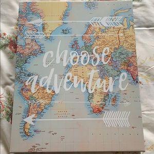 Choose Adventure canvas